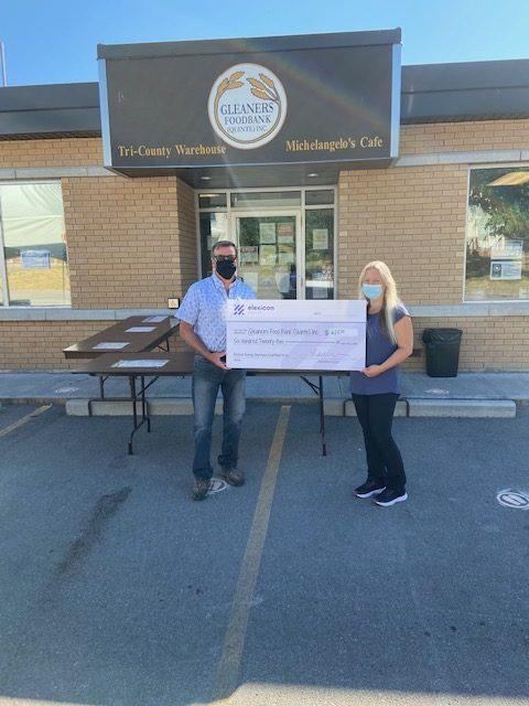 gleaners food bank donation